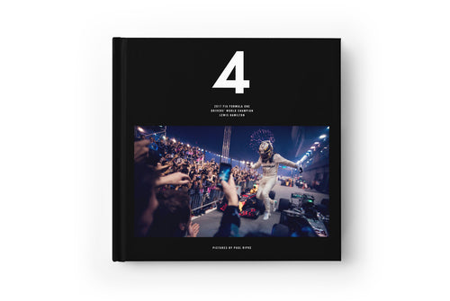 4 - 2017 FIA Formula One World Champion Photo Book