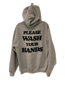 """Please Wash Your Hands"" Abe & Mary's Hoodie"