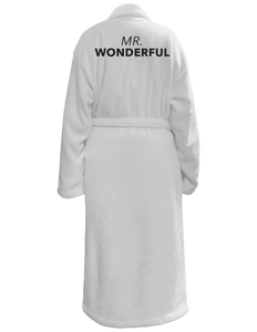 Mr. Wonderful Bath Robe