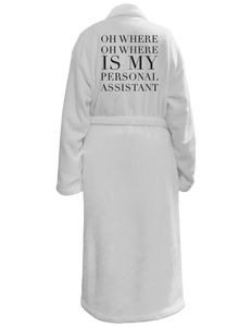 Personal Assistant Bath Robe
