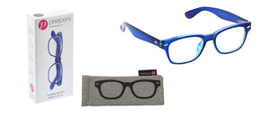 Blue Simply Peepers Reading Glasses