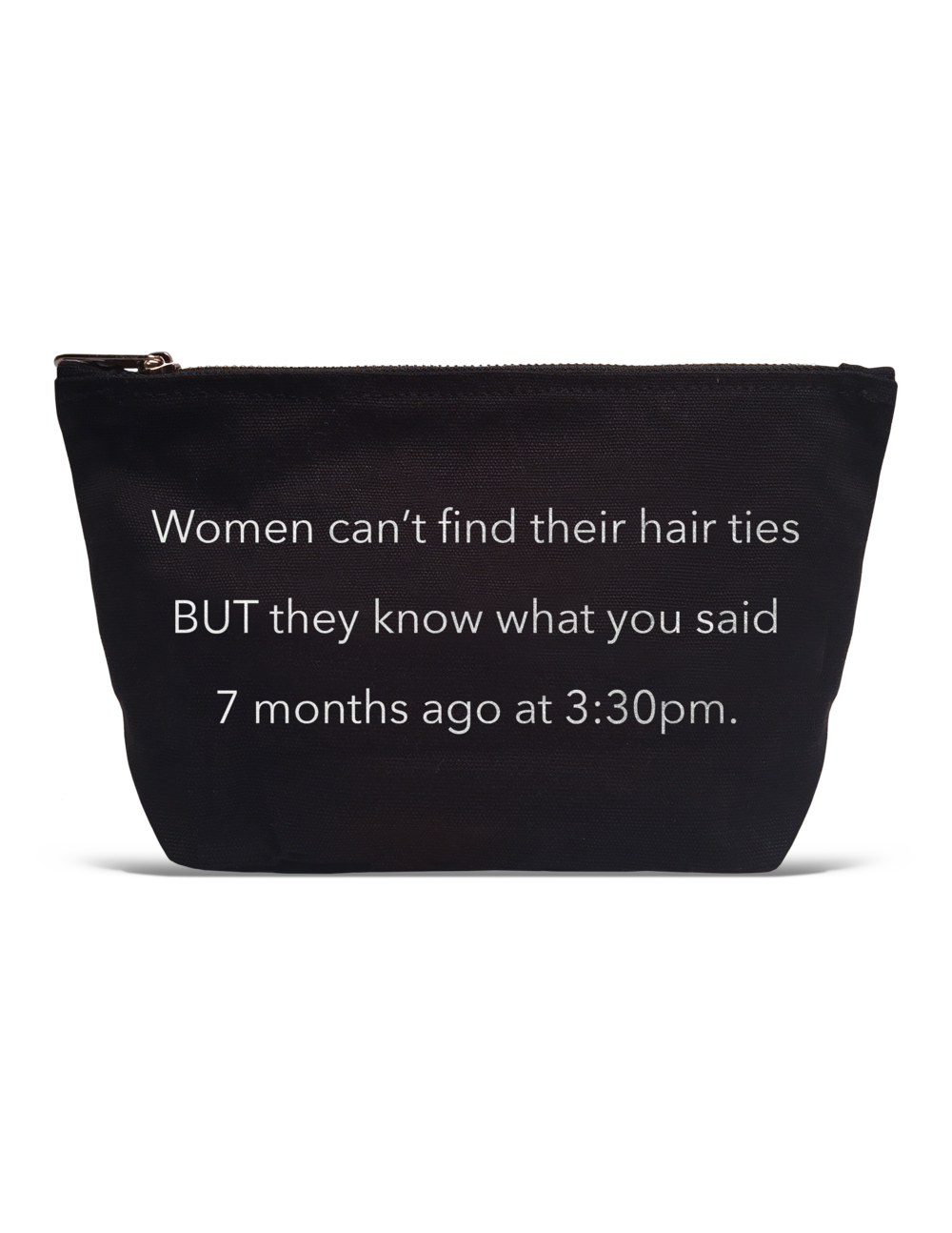 Women Can't Find Their Hair Ties Pouch