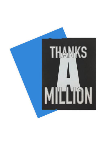 Thanks a Million
