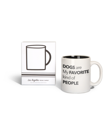 Dogs Are My Favourite Kind Of People Mug