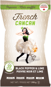 Black Pepper & Lime French Cancan Pop Corn