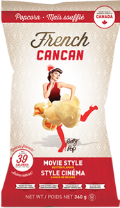 Movie Style French Cancan Popcorn