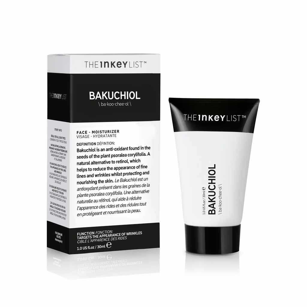 The INKEY List BAKUCHIOL | Moisturiser | Skincare