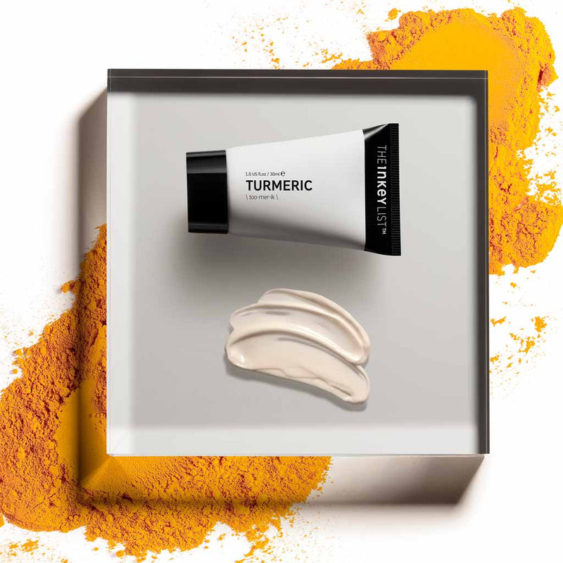 INKEY - TURMERIC Face Moisturiser - Prevents and heals dry skin