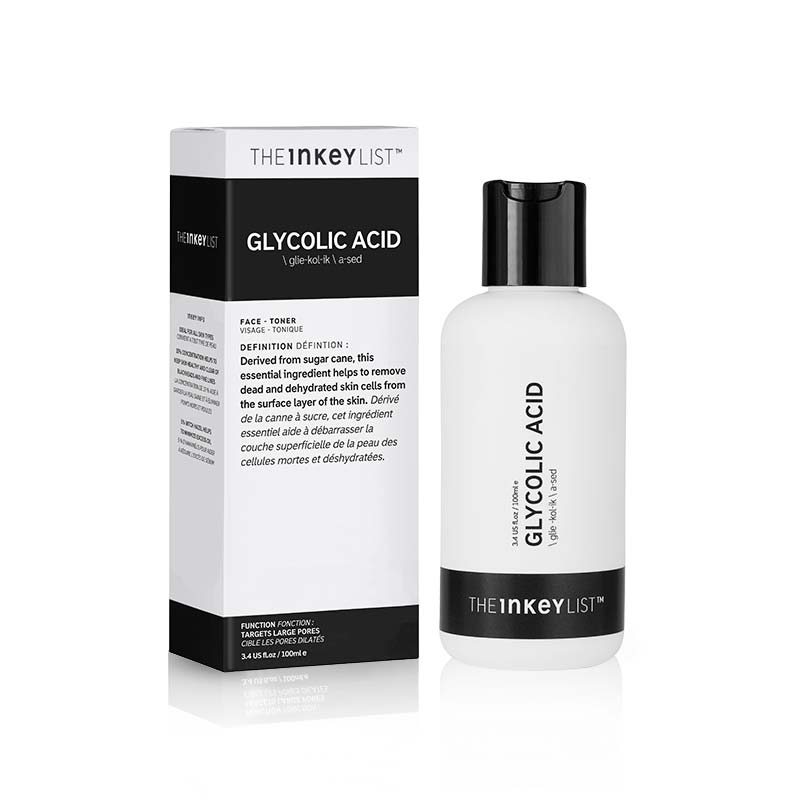 INKEY - GLYCOLIC ACID, AHA, the inkey list, premium skin care