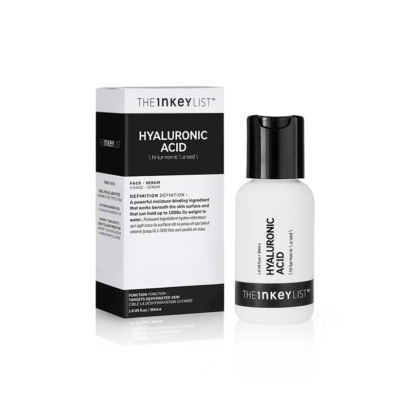 INKEY - HYLAURONIC ACID, AHA, the inkey list, premium skin care