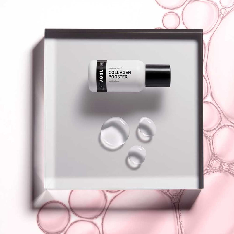 INKEY - COLLAGEN BOOSTER tightens the skin and targets fine lines and wrinkles