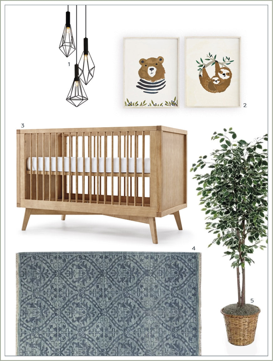 Nursery Ideas: Modern Baby Boy Room