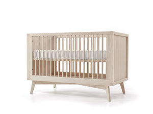 Mid-Century Baby Retro Convertible Crib and Conversion Kit Set