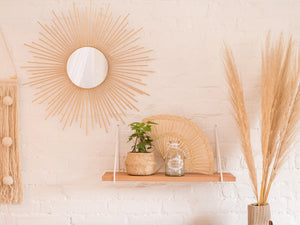 Boho Noah Wood Shelf