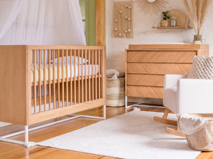 Boho Noah Crib, Chest and Changing Tray Set