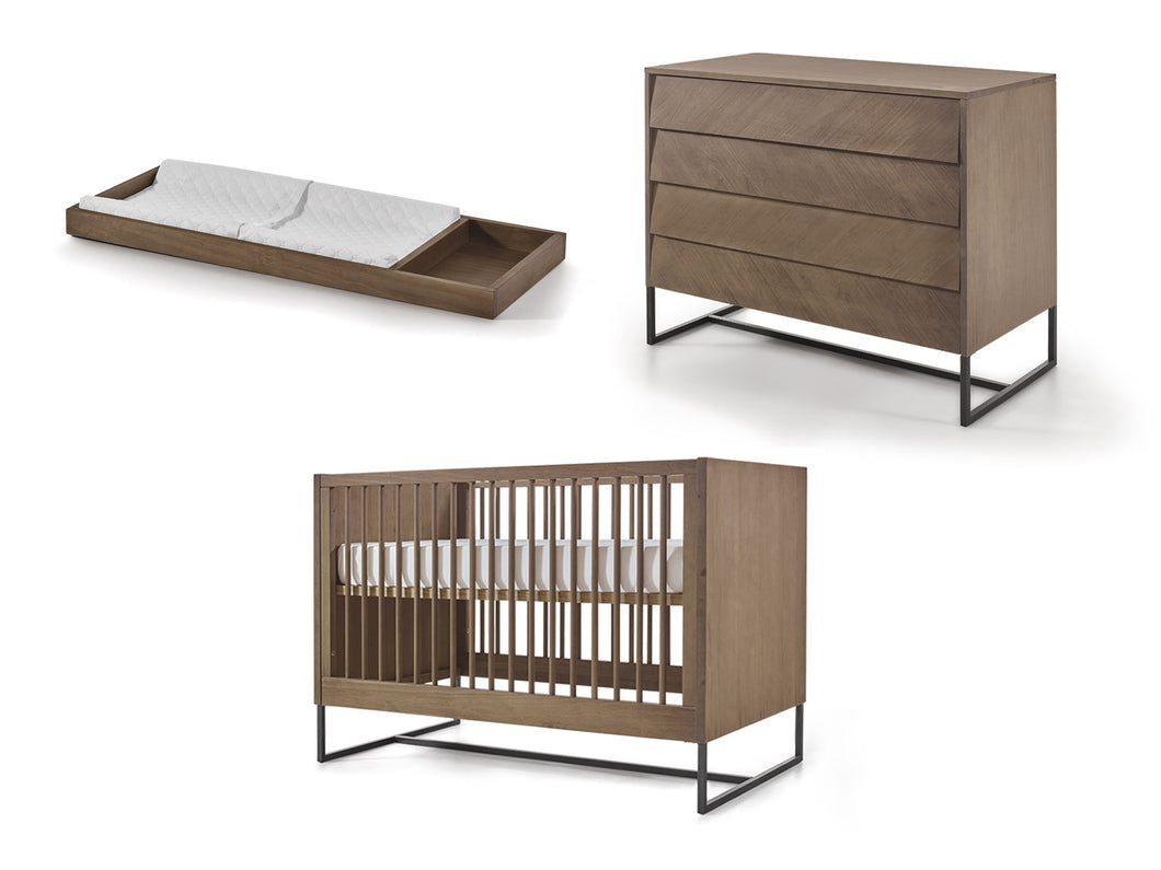 Noah Crib, Chest and Changing Tray Set