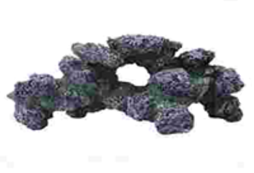 a large piece of purple aquarium rock coral