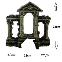 Fish Tank Aquarium Ornament Feature - Roman Pillared Temple