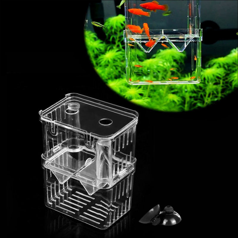 Aquarium Fish Tank Hatchery Breeding Box Fry Trap - Hidom BX-003