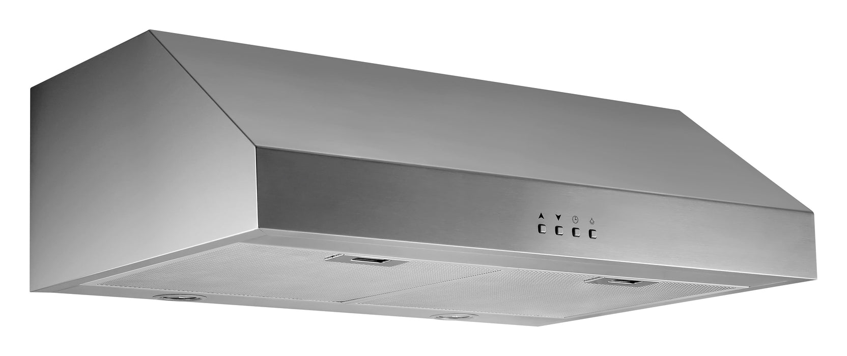 30-inch Stainless Steel Under Cabinet Range Hood with Square Buttons