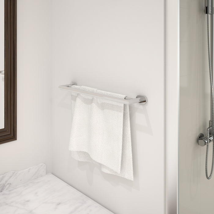 Aria 4-piece Bathroom Accessory Set in Chrome