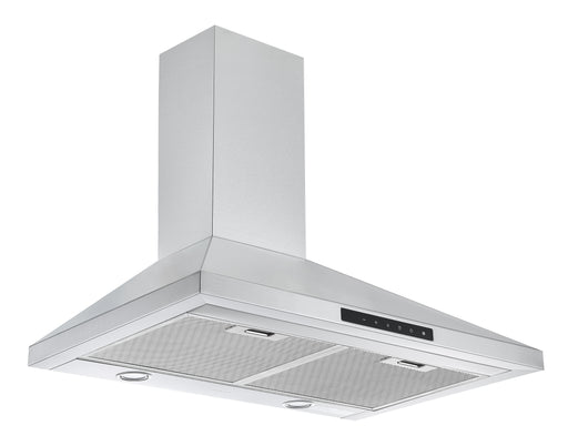 WTNL430 30 in. Wall Mount Pyramid Range Hood in Stainless Steel with Night Light Feature