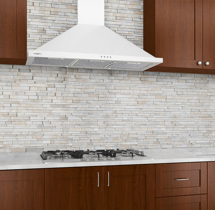 36 in. Presto 450 CFM Ducted Wall Mount Range Hood