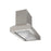Pro Series Pyramid 30 in. Hidden controls Range Hood