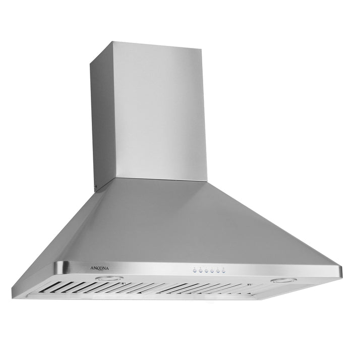 Wall Chef LED 36 in. 600 CFM Ducted Wall Mount Range Hood