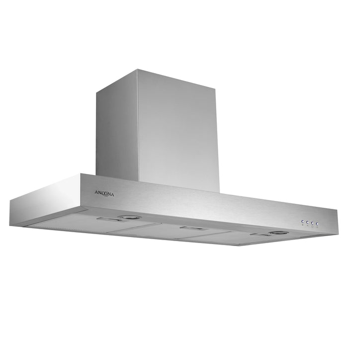 Ancona 36 in. Forza LED Range Chimney Style Range Hood   380 CFM
