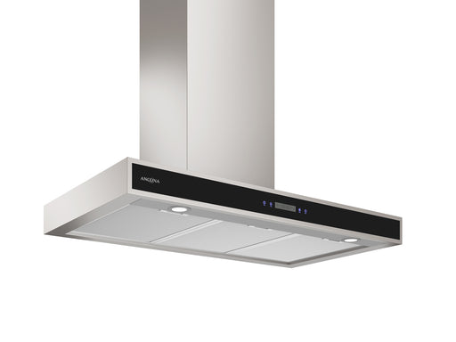 WRP436 36 in. Convertible Wall Mounted Range Hood with LED Lights in Stainless Steel