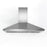 WPL436 36 in. Wall Mounted Pyramid Range Hood in Stainless Steel with LED lights