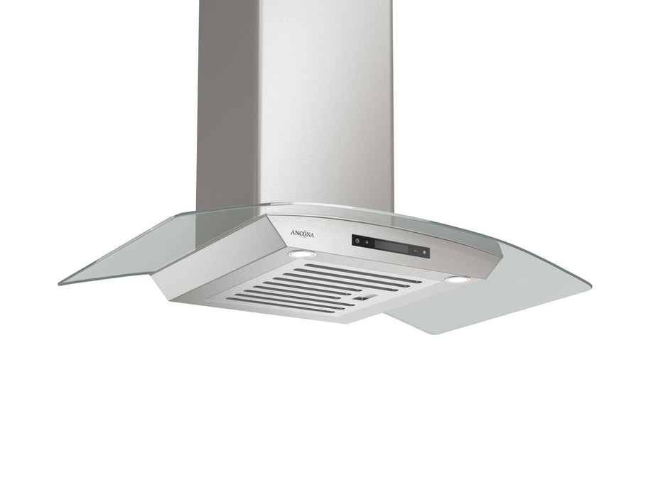 GCT436 36 in. Wall Mounted Range Hood with a Stainless Steel Body and Glass Canopy