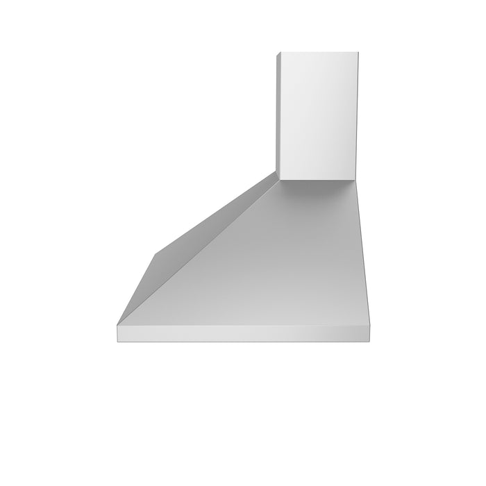 WPP430 30 in. Wall Mounted Range Hood Pyramid Style in Stainless Steel