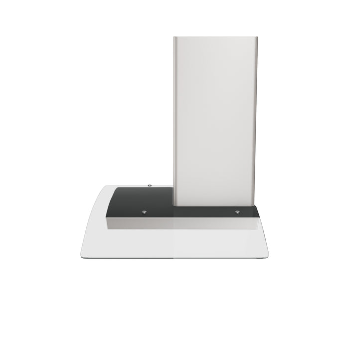 GCP430 30 in. Wall Mounted Range Hood with a Stainless Steel Body and Glass Canopy