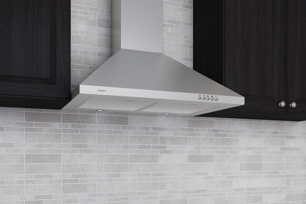 WPD430 30 in. Wall Mounted Pyramid Range Hood