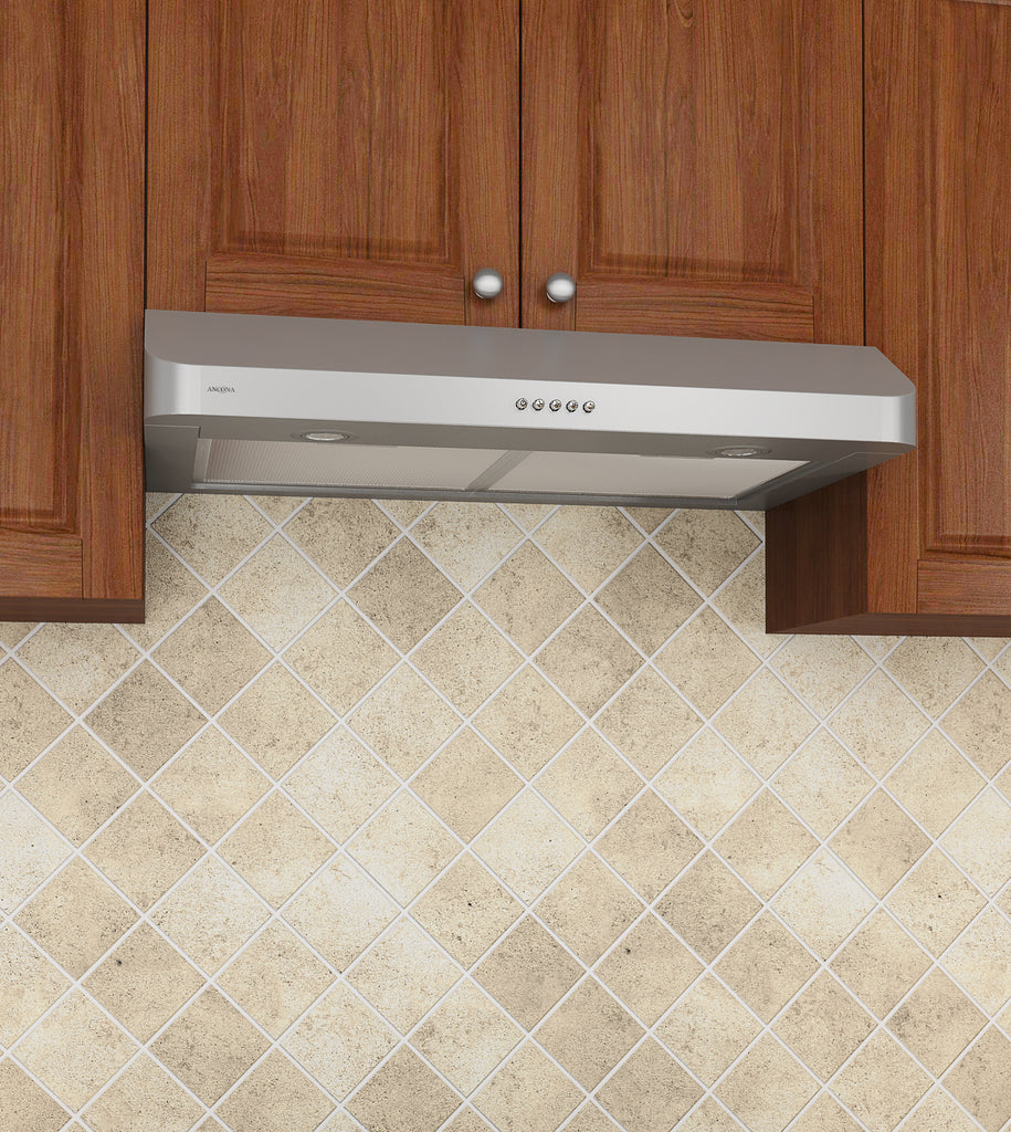Cabinet Renewal Products: 30 In. Slim DR2 Twin Motor Under Cabinet Range Hood