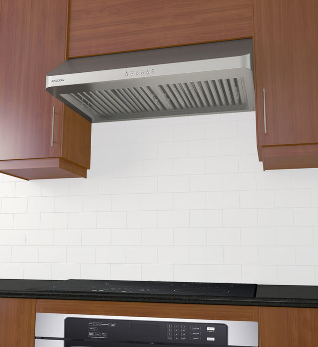 UC Chef LED 30 in. 600 CFM Ducted Under Cabinet Range Hood