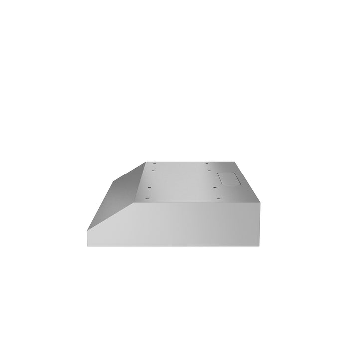 Slim Elite 30 in. with LED Under-Cabinet Range Hood in Stainless Steel