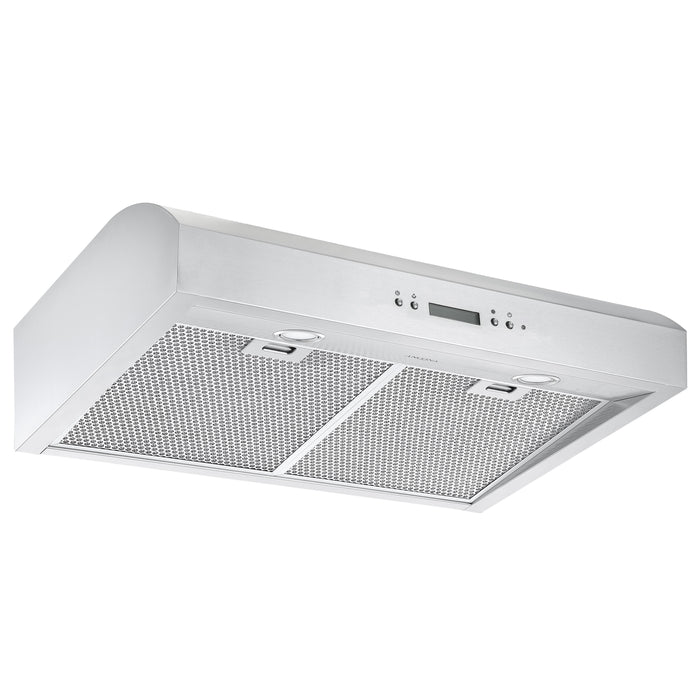 30 in. Under Cabinet Range Hood in Stainless Steel with Night Light Feature