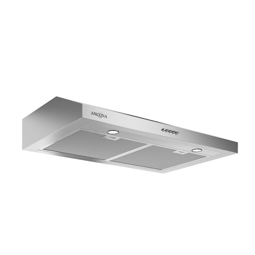 Slim 30 in. Non-Vented Stainless Steel Under Cabinet Range Hood