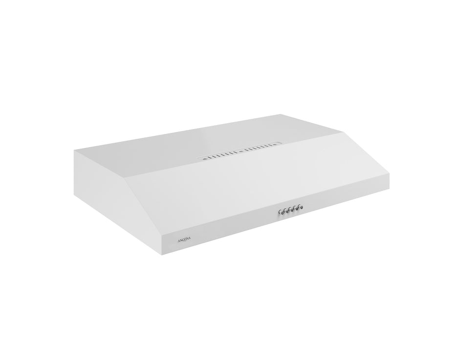 Slim SDRW 30 in. 325 CFM Non-vented White Under Cabinet Range Hood