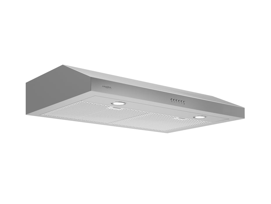 Slim S2C 30 in. 575 CFM Under Cabinet Range Hood in Stainless Steel