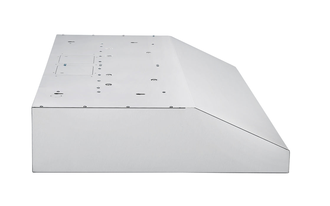 Ancona Slim S2C 36 in. 575 CFM Ducted Under Cabinet Range Hood in Stainless Steel