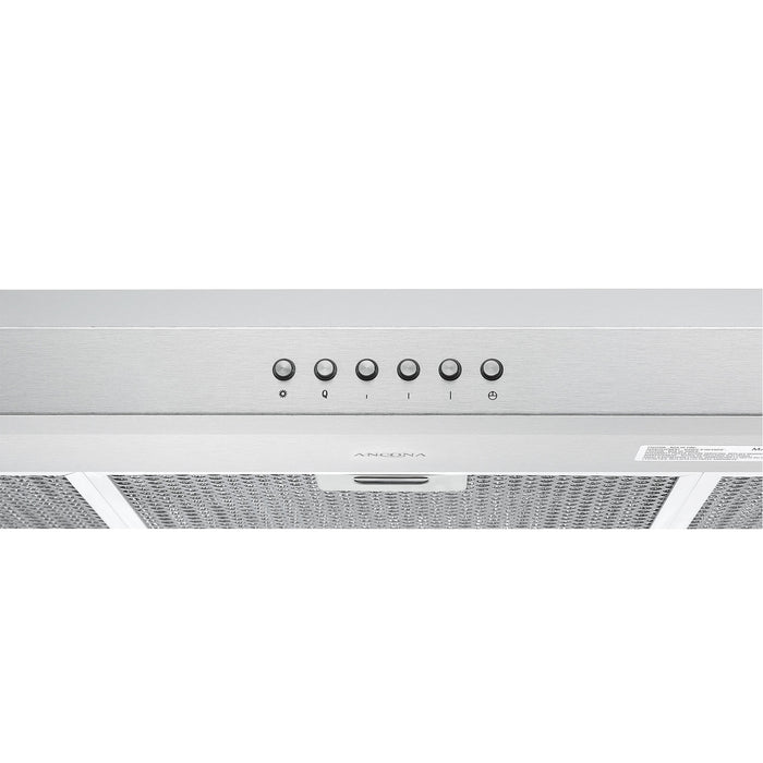 Slim S2C 36 in. 575 CFM Ducted Under Cabinet Range Hood in Stainless Steel