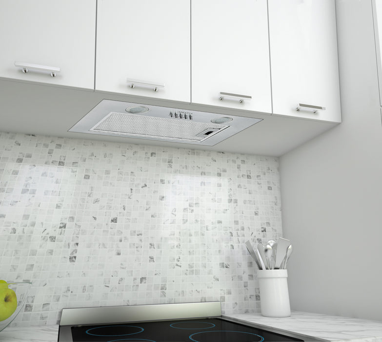 20 in. B24A Built-In Range Hood in Stainless Steel