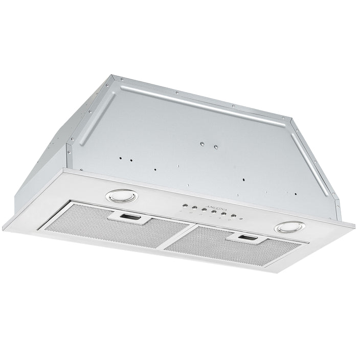 28 in. Built-in BNL430 420 CFM Ducted Range Hood with Night Light Feature