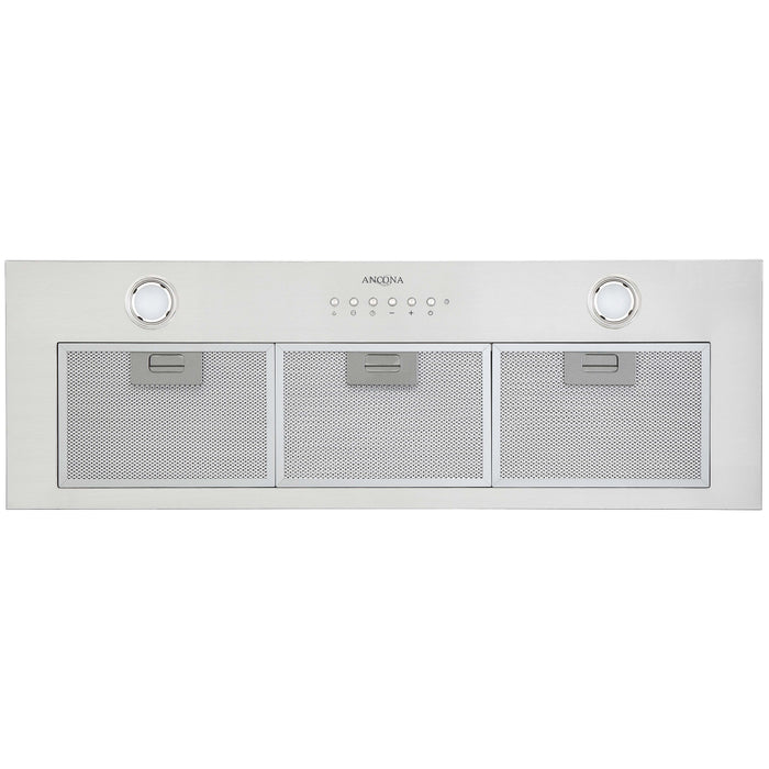 36 in. Built-in BNL436 420 CFM Ducted Range Hood with Night Light Feature