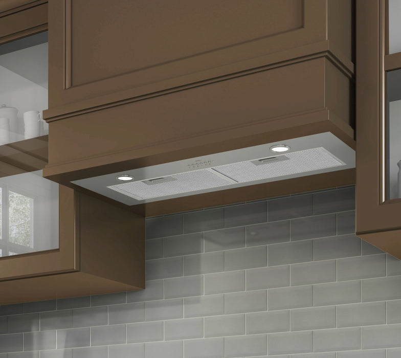 28 in. Ducted Stainless Steel Undercabinet Range Hood Insert with Night Light Feature