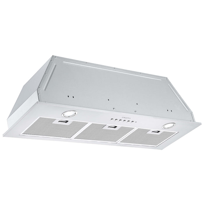 36 in. Ducted Stainless Steel Undercabinet Range Hood Insert with Night Light Feature